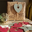 Pack Of 10 Wooden Gift Tags