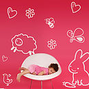 Daydreamer Doodles Wall Stickers