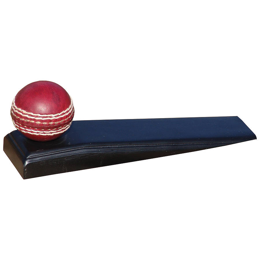 Cricket Door Stop By Me And My Sport Notonthehighstreet Com