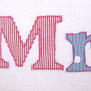 'Mr & Mrs' Cushion
