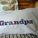 Grandpa Personalised Pillowcase Gift
