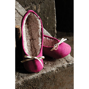 Ruby & Ed Snuggle Ballerina Slippers - cosy casuals