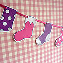 Christmas Stocking Garland