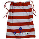 Personalised Stripy Laundry Bag