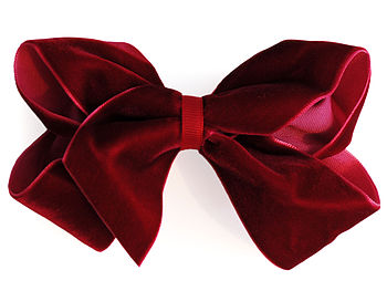Luxurious Velvet Boutique Hair Bow