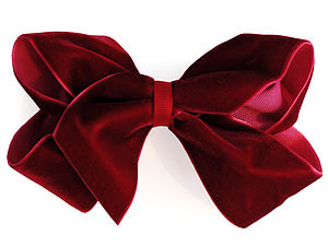 Luxurious Velvet Boutique Hair Bow - children's accessories