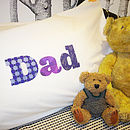Dad Pillowcase Gift For Fathers And Grandfathers