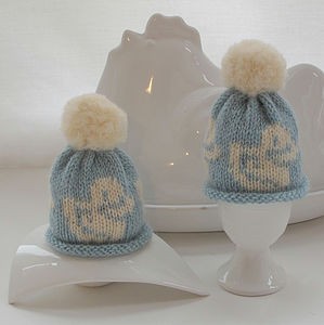 A Pair Of Egg Cosies In Gift Box - egg cups & cosies