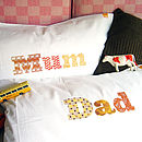 Mum And Dad Printed Pillowcase Set