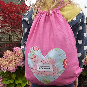 Child's Slogan Rucksack