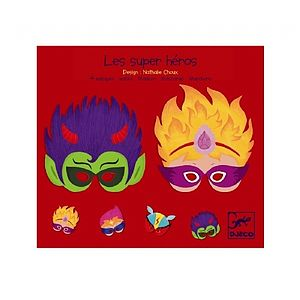 Super Hero Fancy Dress Play Masks - fancy dress