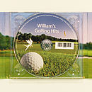 Personalised Golf CD
