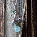 Seafoam Briolette Necklace