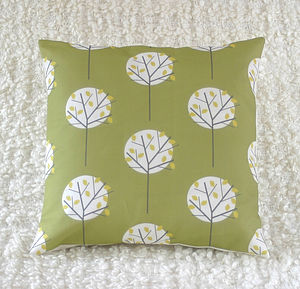 Tree Cushion Cover - bedroom
