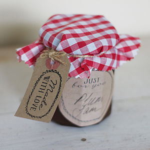 Jam Labelling Kit - ribbon & wrap