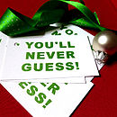28 Joke Christmas Gift Tags Variety Pack