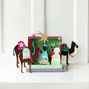 DIY Three Kings Nativity Set - play scenes