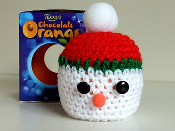 Stan The Snowman Chocolate Orange Cosy