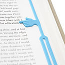 Pointing Finger Eco Bookmark