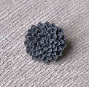 Chrysanthemum Brooch - pins & brooches
