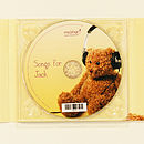 Personalised Christening CD