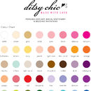 Ditsy Chic -Colour Chart
