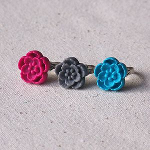 Sakura Blossom Ring - women's jewellery