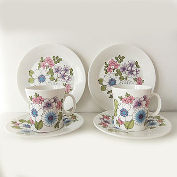 Retro Tea For Two Set