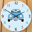 Personalised Beetle Clock