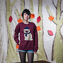 Women's Winter Pug Jumper