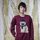 Thumb_women-s-marroon-winter-pug-jumper