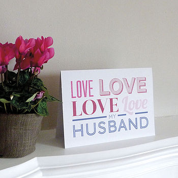 Love Card Husband
