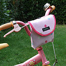 Spotty Print Child's Scooter Or Bike Bag Bike