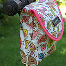 Birdies Print Child's Scooter Or Bike Bag Side