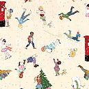 Belle & Boo Christmas Fabric