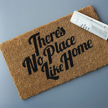'No Place Like Home' Doormat