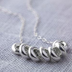 Lucky Seven Silver Necklace - necklaces & pendants