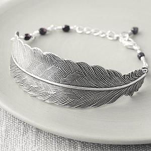 Feather Bracelet - women's jewellery