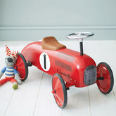 Retro Style Ride On Racing Car - baby & child