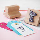 Personalised Child's Rubber Stamp