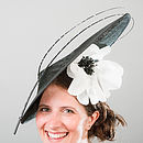 Eccentric Hat With Silk Poppy