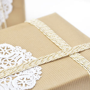 Kraft Brown Gift Wrapping Paper - wedding cards & wrap