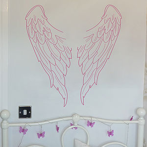 Angel Wings Wall Sticker - wall stickers