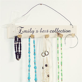 Personalised Jewellery Holder