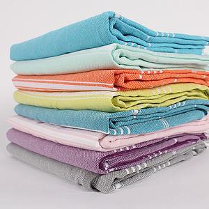 Handwoven Hammam Towels, Ibiza - tops & t-shirts