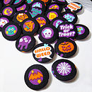 Halloween Fabric Badge Set