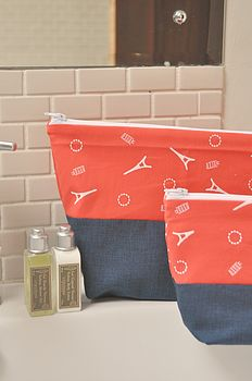 Euro Sites Wash Bag