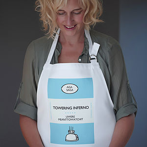 'Towering Inferno' Apron - aprons