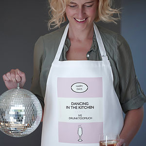 'Dancing In The Kitchen' Apron