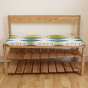 Hall Bench With Shoe Storage - benches